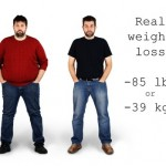 Man Losing Weight