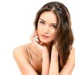 beautiful woman clear skin